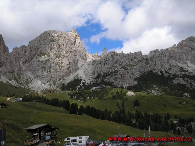 Alpy Rakousko It 225 Lie Dolomity Srpen 2011 Motobazar